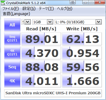 Sandisk microSDXC UHS-I Premium Edition 200GB